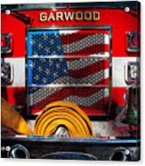 Fireman - I'll Put Your Fire Out Acrylic Print by Mike Savad