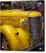 Fireman - Mattydale  Acrylic Print