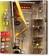 Fireman - Station - 36-3 Acrylic Print