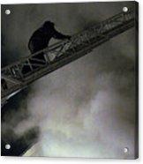 Fireman Washington Dc Acrylic Print