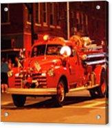 Fireman's Parade No. 3 Acrylic Print