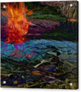 Firenwater Acrylic Print