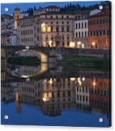 Firenze Blue I Acrylic Print
