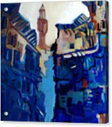 Firenze Street Study Acrylic Print