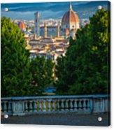 Firenze Vista Acrylic Print