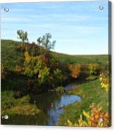 Firesteel Creek Autumn Acrylic Print
