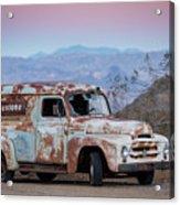 Firestone Truck Acrylic Print