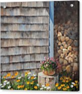 Firewood Shed					 Acrylic Print