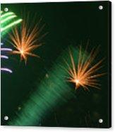 Firework Abstract Acrylic Print