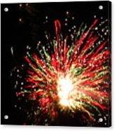 Firework Christmas Sparkle Acrylic Print