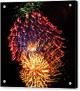Firework Jewel Blast Acrylic Print