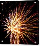 Firework Symphony Acrylic Print