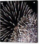 Firework Within Fireworks Acrylic Print