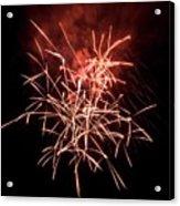 Fireworkd Acrylic Print