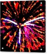 Fireworks 102 Acrylic Print