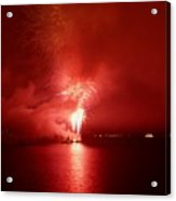 Fireworks 17 Acrylic Print