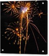 Fireworks 2 Acrylic Print by Michael Peychich