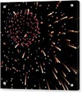 Fireworks 3 Acrylic Print