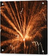 Fireworks A Different Perspective Seven Acrylic Print