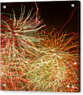 Fireworks Abstract IIi Acrylic Print