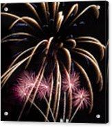 Fireworks Festivities Acrylic Print