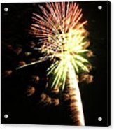 Fireworks From A Boat - 9 Acrylic Print