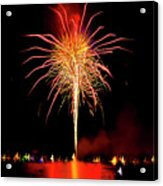 Happy Birthday, United States Of America 8 Acrylic Print