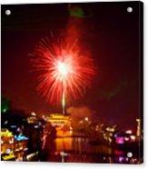 Fireworks In Phoenix Acrylic Print