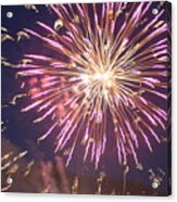 Fireworks In The Park 2 Acrylic Print