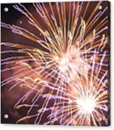 Fireworks In The Park 3 Acrylic Print