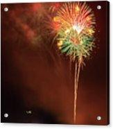 Happy Birthday United States Of America 15 Acrylic Print