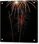 Fireworks Acrylic Print by Marti Buckely