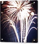 Fireworks No.3 Acrylic Print by Niels Nielsen