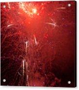 Fireworks Over Humboldt Bay Acrylic Print