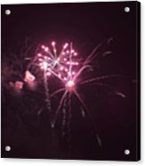 Fireworks Over Puget Sound 13 Acrylic Print