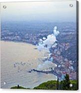 Fireworks Over Sicily Acrylic Print
