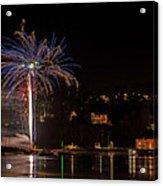 Fireworks Shaldon 2015 Acrylic Print