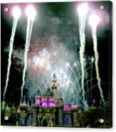 Fireworks To End The Day Acrylic Print