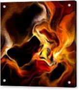 Firey Acrylic Print