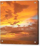 Firey Sky Acrylic Print