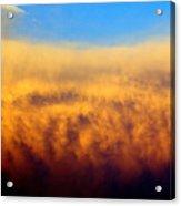 Firey Sunset Acrylic Print