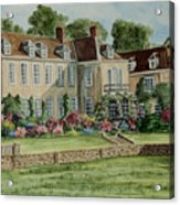 Firle Place England Acrylic Print