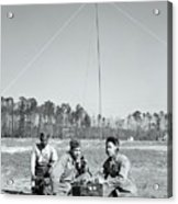 First African American United States Marines 1942 Acrylic Print