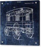First Ambulance Patent Acrylic Print