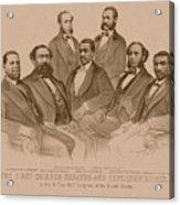 First Colored Senator And Representatives Acrylic Print