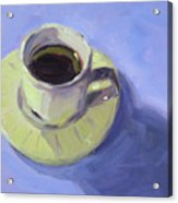 First Cup Acrylic Print
