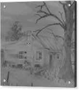 First House Acrylic Print