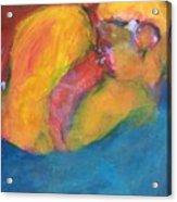 First Kiss Acrylic Print