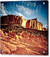 First Light At Capitol Reef Acrylic Print