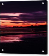 First Light At Granton, From Cramond Acrylic Print